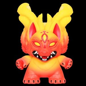 """KYUUBI 8"""" DUNNY ART FIGURE BY CANDIE BOLTON"""